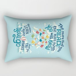 Go places Rectangular Pillow