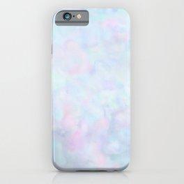 Rainbow Unicorn Pastel Fluffiness iPhone Case
