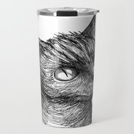 Cat Portrait Travel Mug