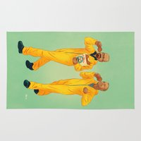 breaking bad Area & Throw Rugs featuring Breaking Bad by Dave Collinson