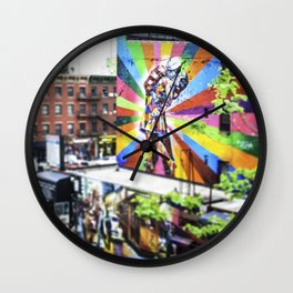 New York, The High Line 'Kiss' Wall Clock
