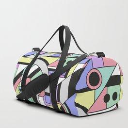 De Stijl Abstract Geometric Artwork Duffle Bag