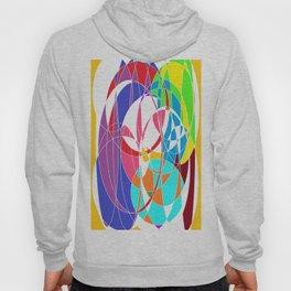 Hertzians Waves of colors Hoody