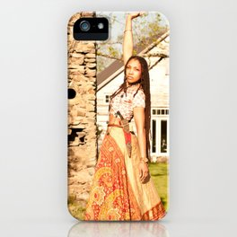 Of the Queen Heart High iPhone Case