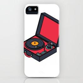 Retro Turntable iPhone Case