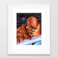 jedi Framed Art Prints featuring Jedi by Morales