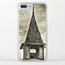 The Bell Tower Clear iPhone Case