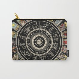 The Major Arcana & The Wheel of the Zodiac Carry-All Pouch