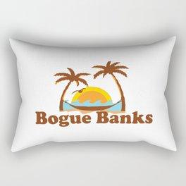 Bogue Banks - North Carolina. Rectangular Pillow