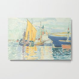 Venice The Giudecca by Henri-Edmond Cross 1903, French Metal Print