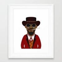django Framed Art Prints featuring DJANGO by Capitoni