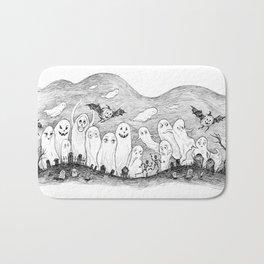 Halloween Ghosts Bath Mat