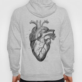 Anatomic hearth engraving Hoody