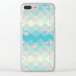 on the wave Clear iPhone Case