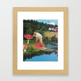 The Mycologist Framed Art Print