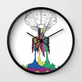 Self Titled Brain Wall Clock