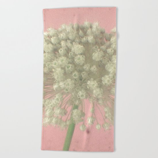 Rose Tinted Beach Towel