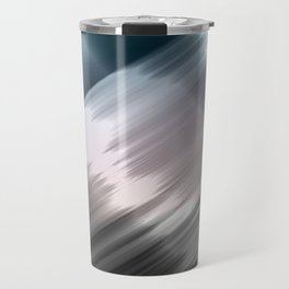 Abstract metallic print Travel Mug