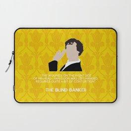 The Blind Banker - Sherlock Holmes Laptop Sleeve