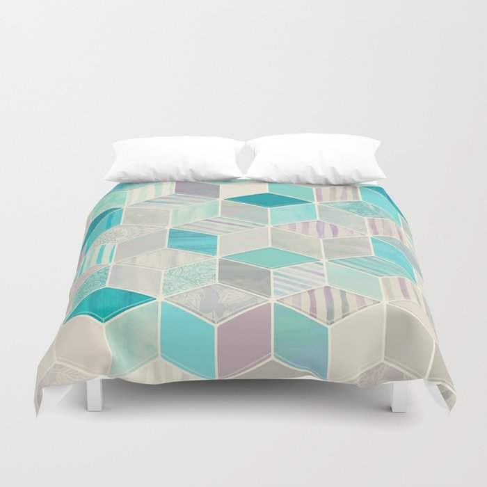 Vacation Patchwork Duvet Cover