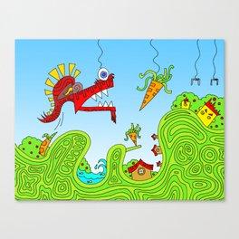 #131: I Found Your Stapler Canvas Print