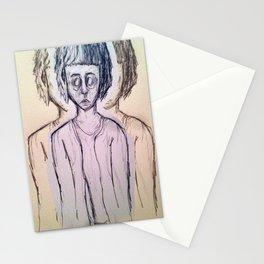 ugly art Stationery Cards