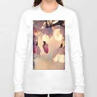 sakura Long Sleeve T-shirts featuring sakura by italianblue