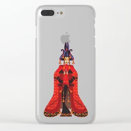 Quan Yin Clear iPhone Case