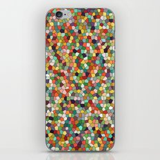 Patchwork of colors iPhone & iPod Skin