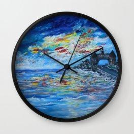Narragansett Towers R.I. Wall Clock