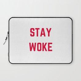 STAY WOKE Laptop Sleeve
