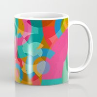 picasso Mugs featuring Pattern Picasso by Tony Vazquez
