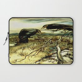 The Two Crows Laptop Sleeve