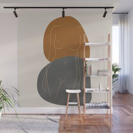 Line Female Figure 81 Wall Mural