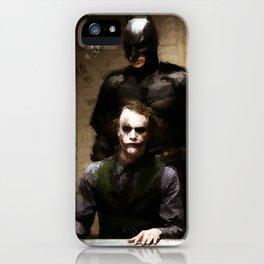 The Interrogation iPhone Case