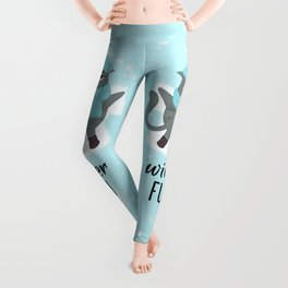 Cute adorable Grumpy 2 Leggings