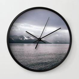 Kenai Fjords, Alaska Wall Clock