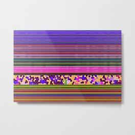 GRAPHIC POP Metal Print