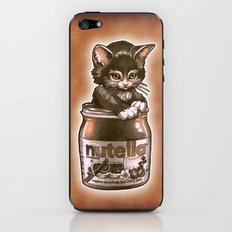 Kitten Loves Nutella iPhone & iPod Skin