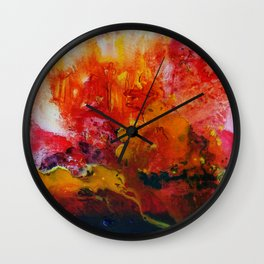 Sunrays Wall Clock