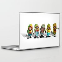 minions Laptop & iPad Skins featuring zombie minons by byron rempel