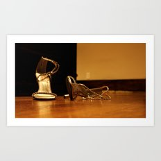 Dancing Shoes Art Print
