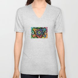 Soul Essence - The Sacred Geometry Collection Unisex V-Neck
