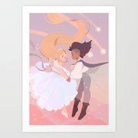 Princess Princess Art Print