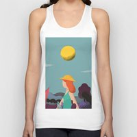 into the wild Tank Tops featuring Wild by Riccardo Fred Cusimano