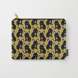 Brindle French Bulldog Carry-All Pouch