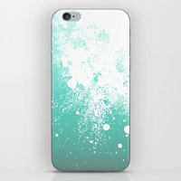 Splattered Ombre iPhone Skin