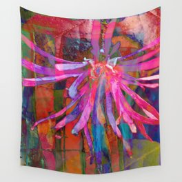 Psyche Floral Burst Wall Tapestry