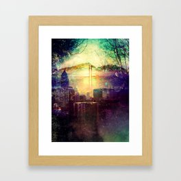 Abstract City Scape Framed Art Print