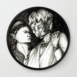 Does time grow limbs, cousin? Wall Clock